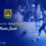 BREAKING: Richard Boateng extends contract with AD Alcoron until 2021