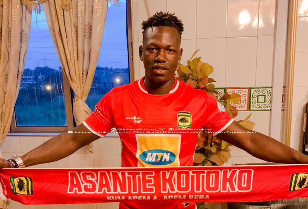 Asante Kotoko sign former Wa All Stars forward Richard Arthur on a three year deal