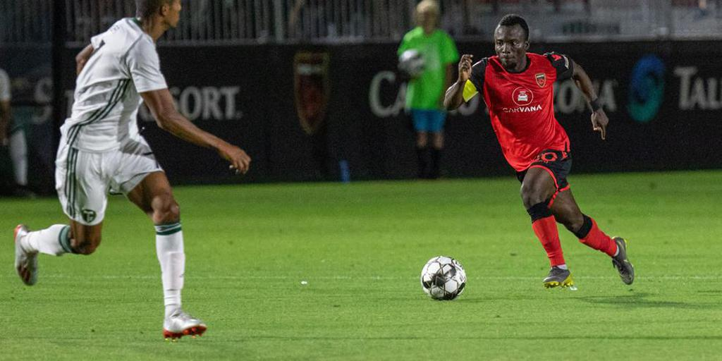 Ghana winger Solomon Asante named USL player for the month of June