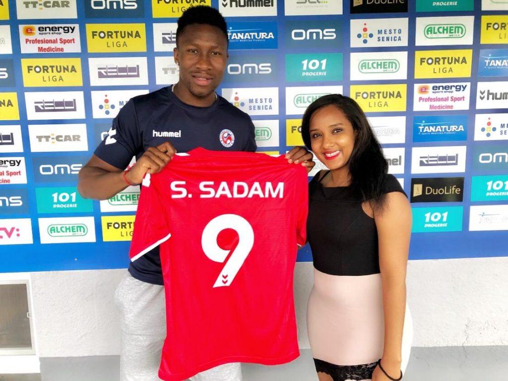 Slovakian top-flight side SK Senica snap striker Sadam Sulley on a permanent deal