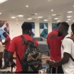 VIDEO: Black Stars sneak into town after disastrous 2019 Africa Cup of Nations campaign