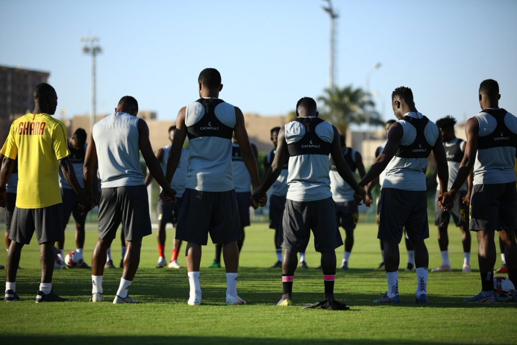 VIDEO: Black Stars train ahead of last 16 clash against Tunisia