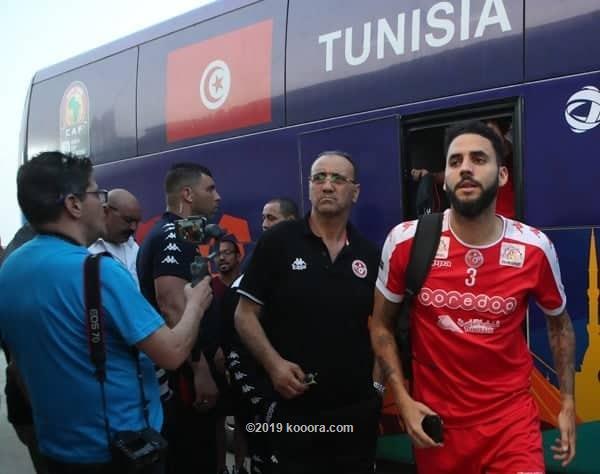VIDEO: Tunisia train in Ismailia ahead of Ghana clash