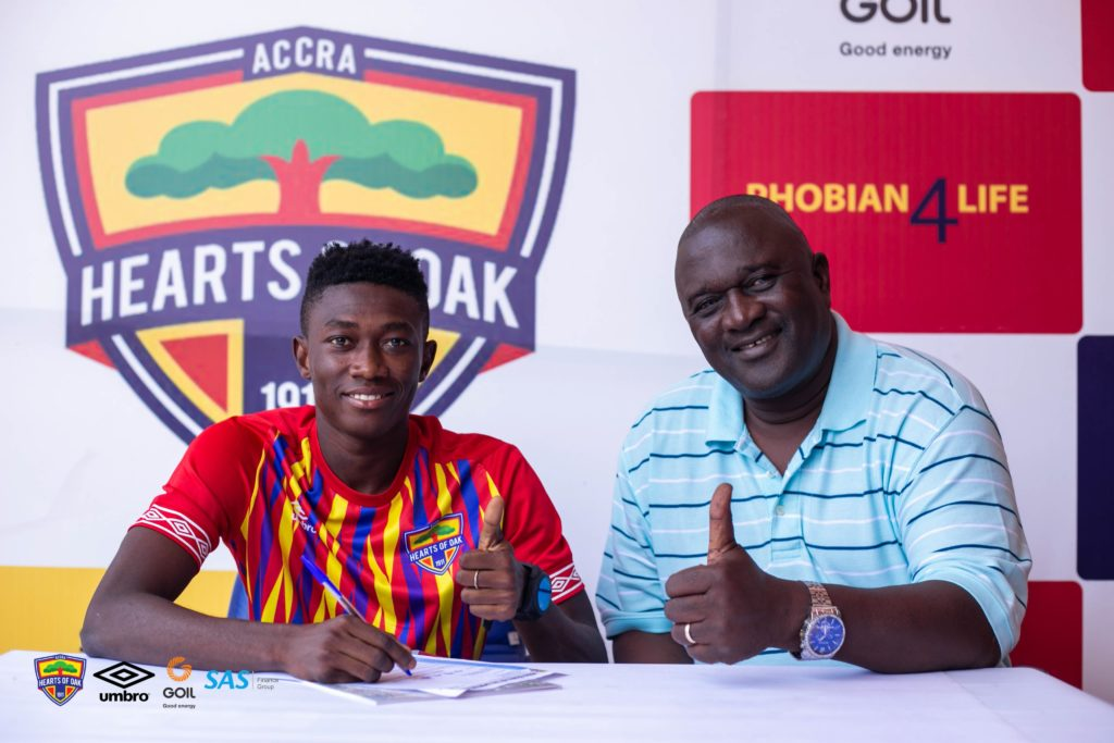 Hearts of Oak tie down wunderkind Manaf Umar to 'improved contract'