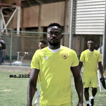 PHOTOS: Vincent Atingah trains with Kuwaiti side Qadsia SC for the first time