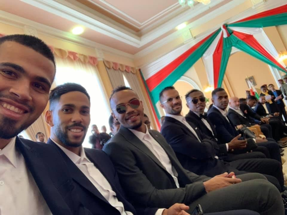 "Madagascar president honours Africa Cup of Nations squad as ""Knights of the Malagasy National Order"""