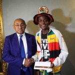 Zimbabwean fan who traveled by road to Egypt for AFCON 2019 receive ticket for final game