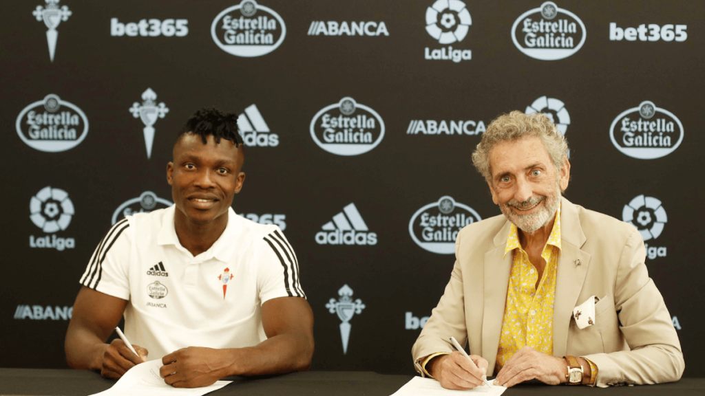 Breaking News: Ghana defender Joseph Aidoo seals bumper move to Spanish side Celta Vigo