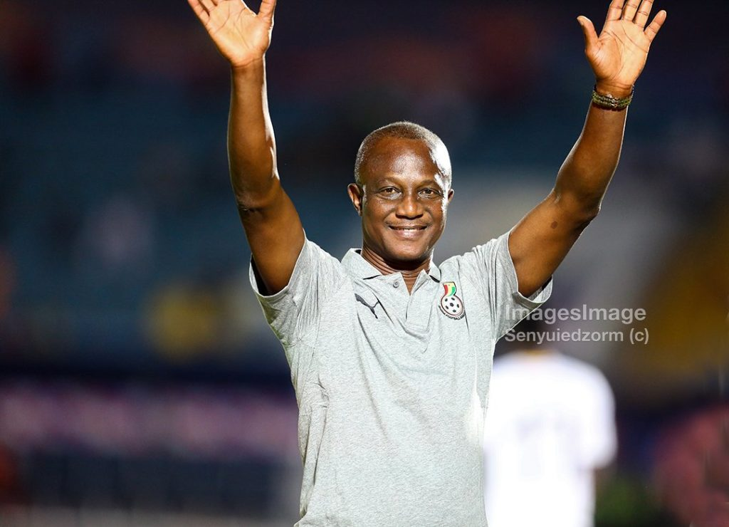 2019 Africa Cup of Nations: Ghana coach Kwesi Appiah finally manages to smile after win over Guinea Bissua
