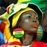 PHOTOS: Ghana fans at Ismailia stadium before Tunisia defeat