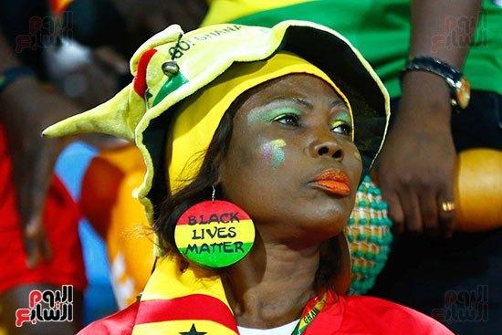 PHOTOS: Ghana fans at Ismailia stadium before Tunisia defeat