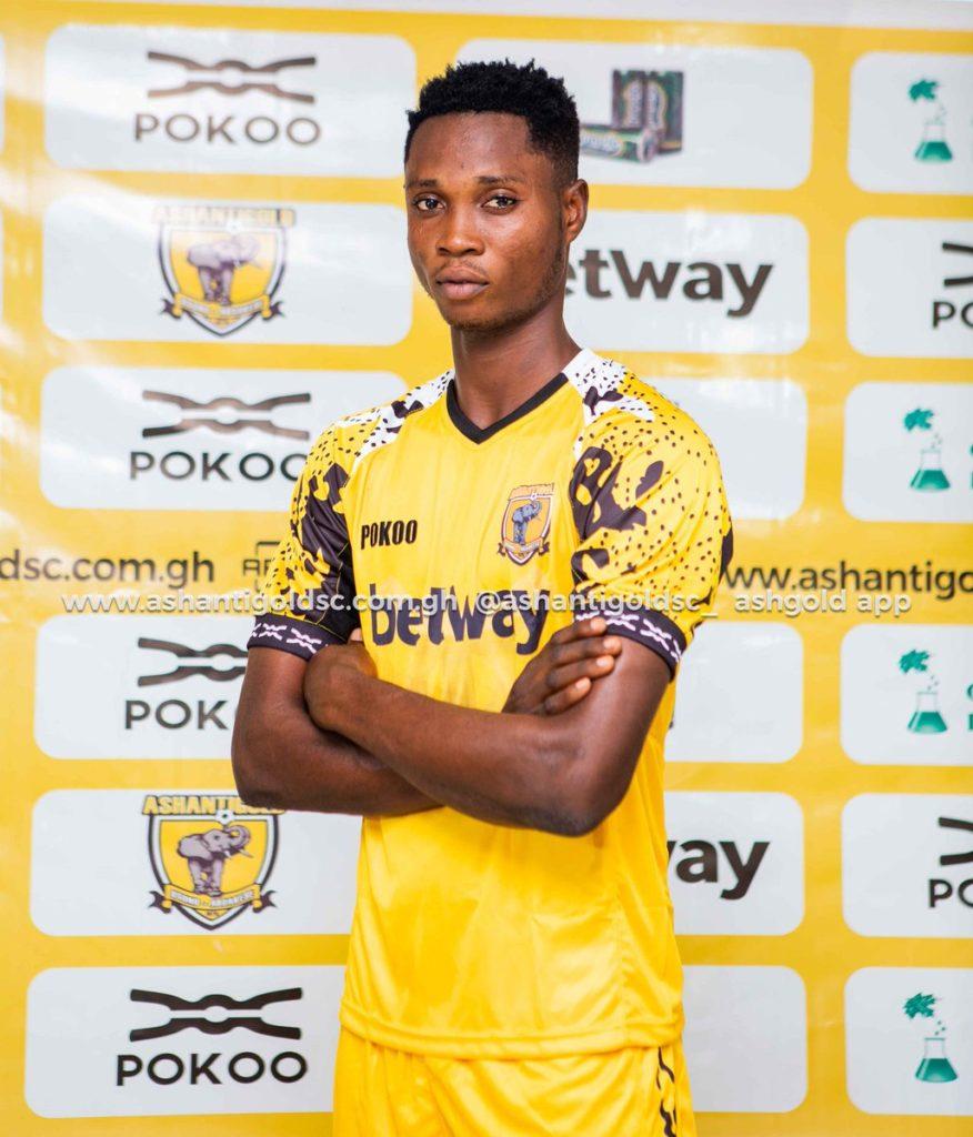 Ashantigold announce signing of forward Isaac Opoku-Agyemang
