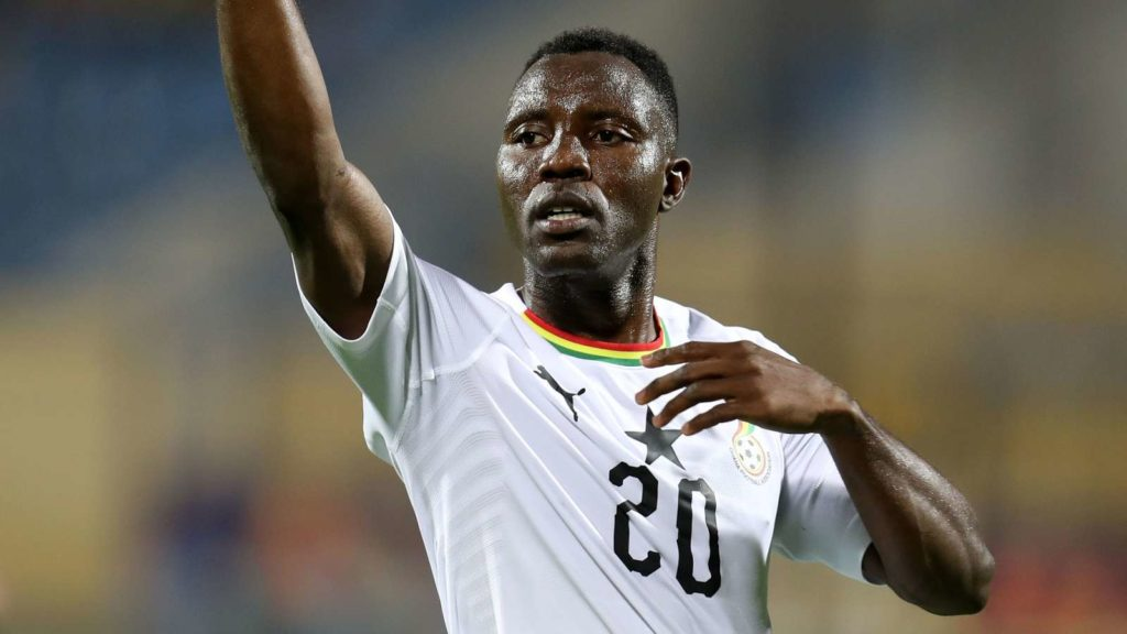 Kwadwo Asamoah shaky form for Ghana results in his AFCON benching