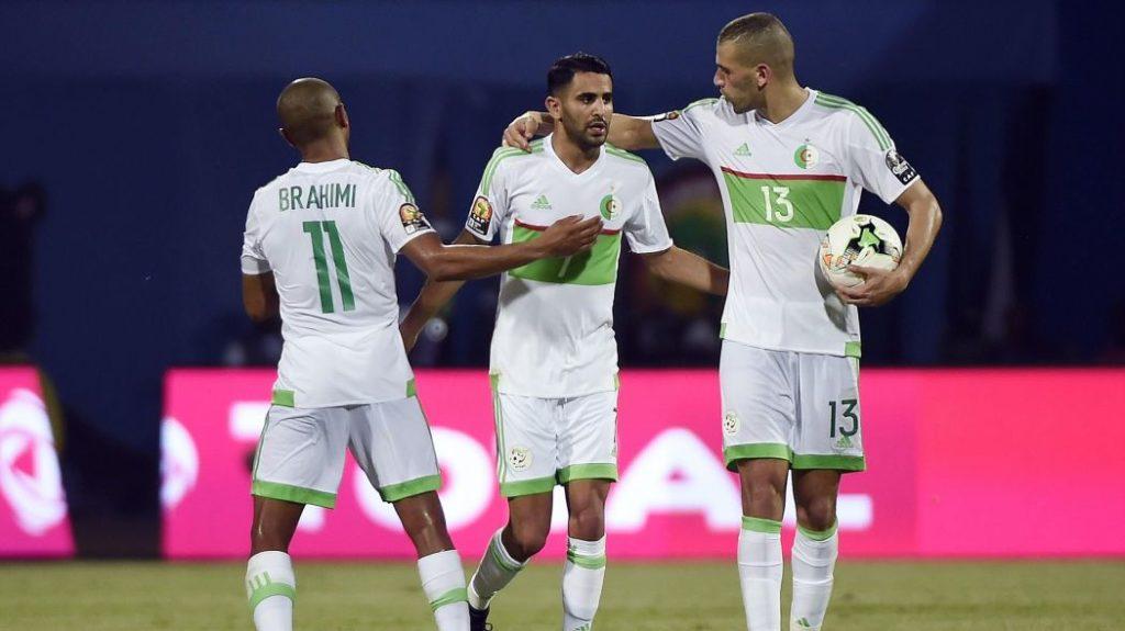 Video: Algeria and Man City striker Riyad Mahrez hails perfect AFCON organisation