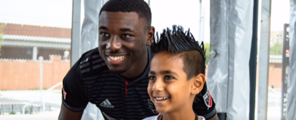 After beating cancer, D.C. United's Chris Odoi-Atsem is back on the field and inspiring