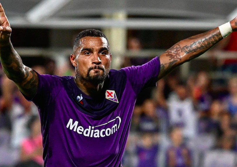 Kevin-Prince Boateng ruled out of Fiorentina's game against Torino due to injury