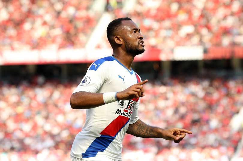 Crystal Palace striker Jordan Ayew happy to hear fans singing his name during Manchester United victory