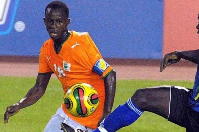 Ivorian footballer dies after falling off train in India
