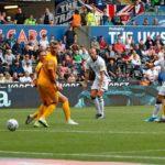 Andre Ayew makes substitute appearance as Swansea maintain unbeaten start to season