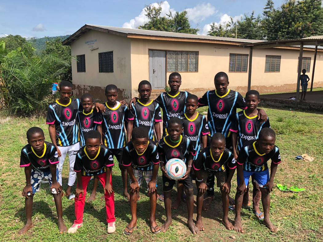 American club Las Vegas Lights FC make donations in Volta