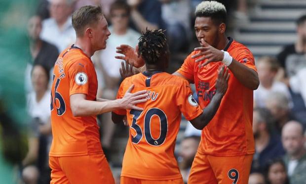Christian Atsu returns from injury to provide assist as Newcastle stun Tottenham