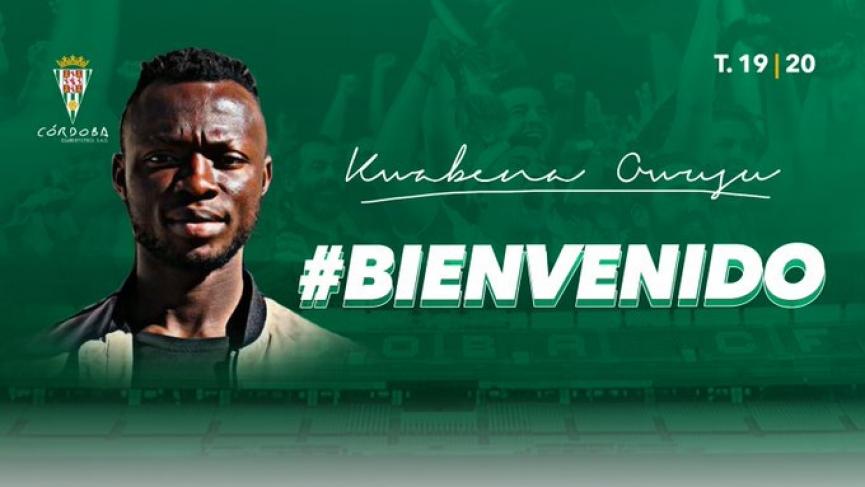 OFFICIAL: Córdoba CF beat Recreativo Huelva to sign Kwabena Owusu from CD Leganés