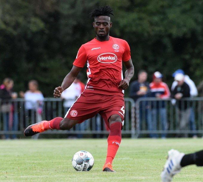 Kassim Adams debuts for Fortuna Düsseldorf in friendly win; set for Bundesliga opener