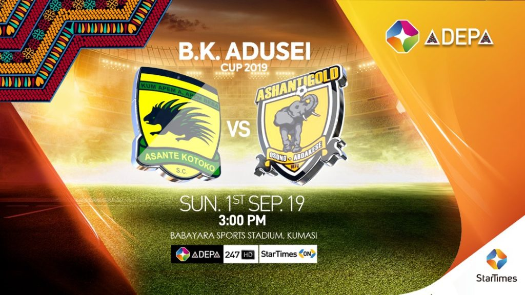 StarTimes to broadcast B K Adusei Cup between Kotoko and
