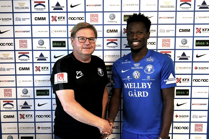 OFFICIAL:  Asante Kotoko star Fatawu Safiu joins Swedish side Trelleborgs FF