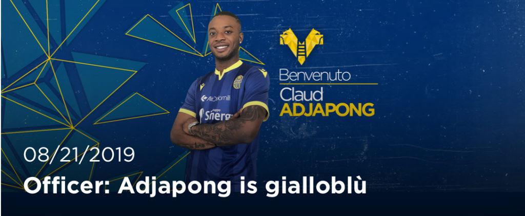 OFFICIAL: Claud Adjapong swaps Sassuolo for Hellas Verona