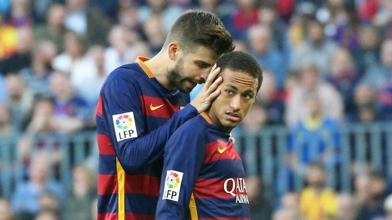Pique: Neymar must 'speak out' for Barca return