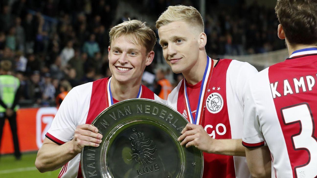 De Jong: Van de Beek good enough for Madrid