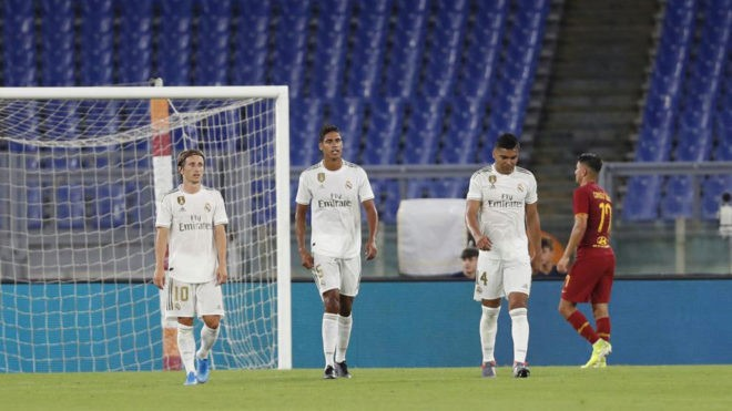 Roma beat Real Madrid to claim Mabel Green Cup