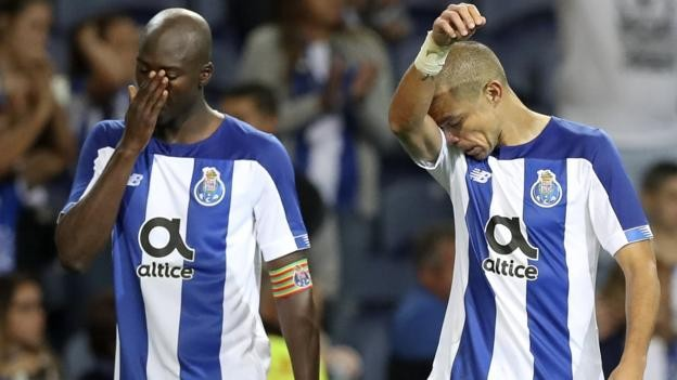 Champions League: Porto knocked out, Ajax survive scare to reach final play-off round