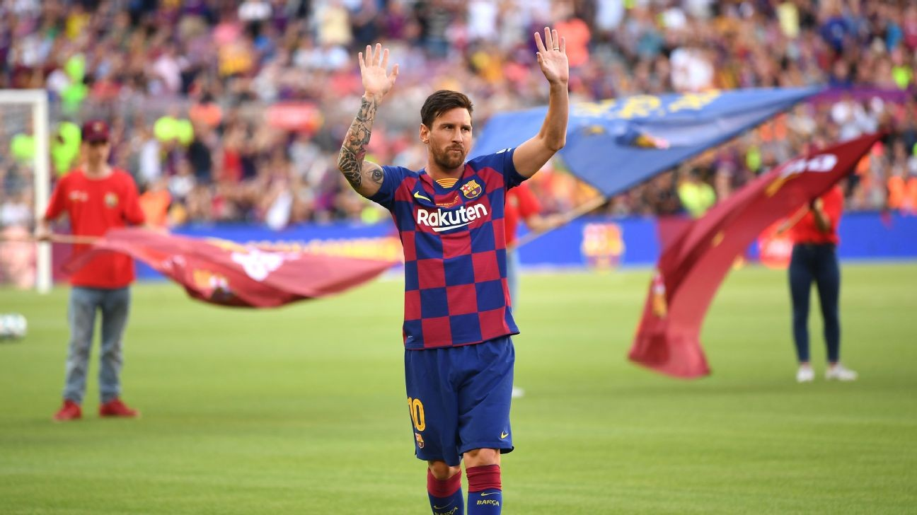 Messi in race against time for La Liga opener