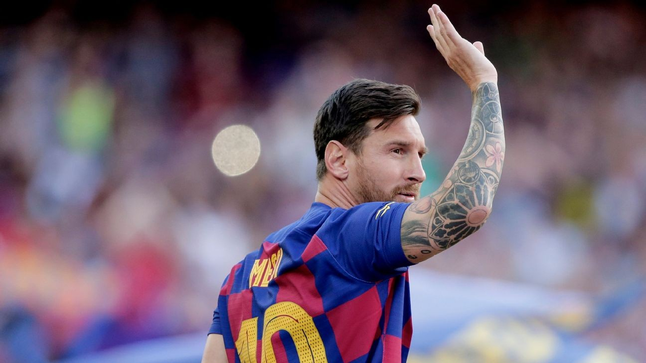 Barca won't take risks with Messi - Valverde