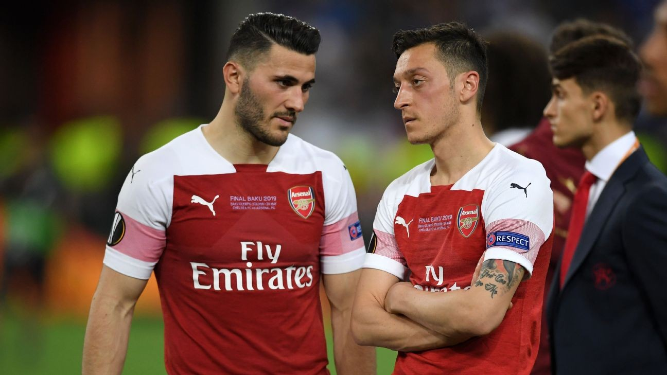 Ozil, Kolasinac '100 percent' ready to return