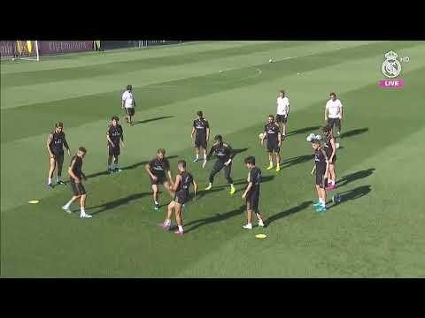 LIVE   Real Madrid train before LaLiga opener against Celta Vigo!