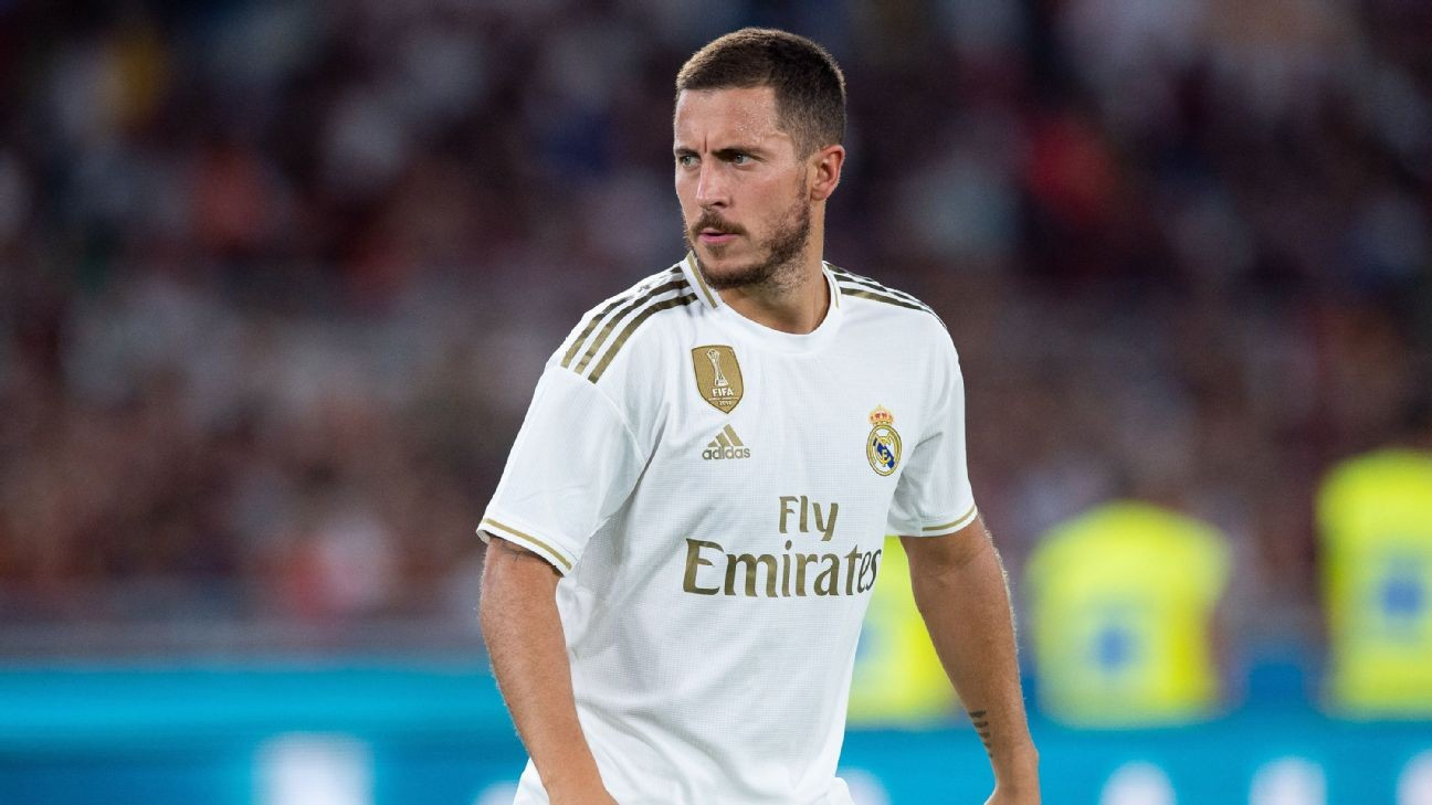 Hazard's Real Madrid debut delayed by injury