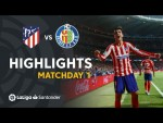 Highlights Atletico de Madrid vs Getafe CF (1-0)