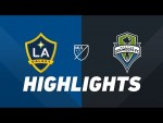 LA Galaxy vs. Seattle Sounders FC | HIGHLIGHTS - August 17, 2019