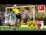 Borussia Dortmund vs. FC Augsburg I 5-1 I Sancho, Alcacer, Reus and Brandt Score - Highlights