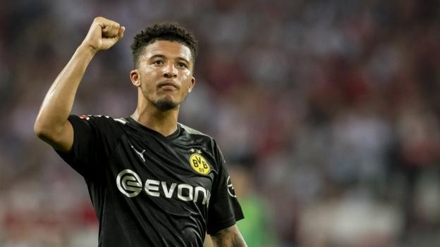 Jadon Sancho stars as Borussia Dortmund make it two wins out of two