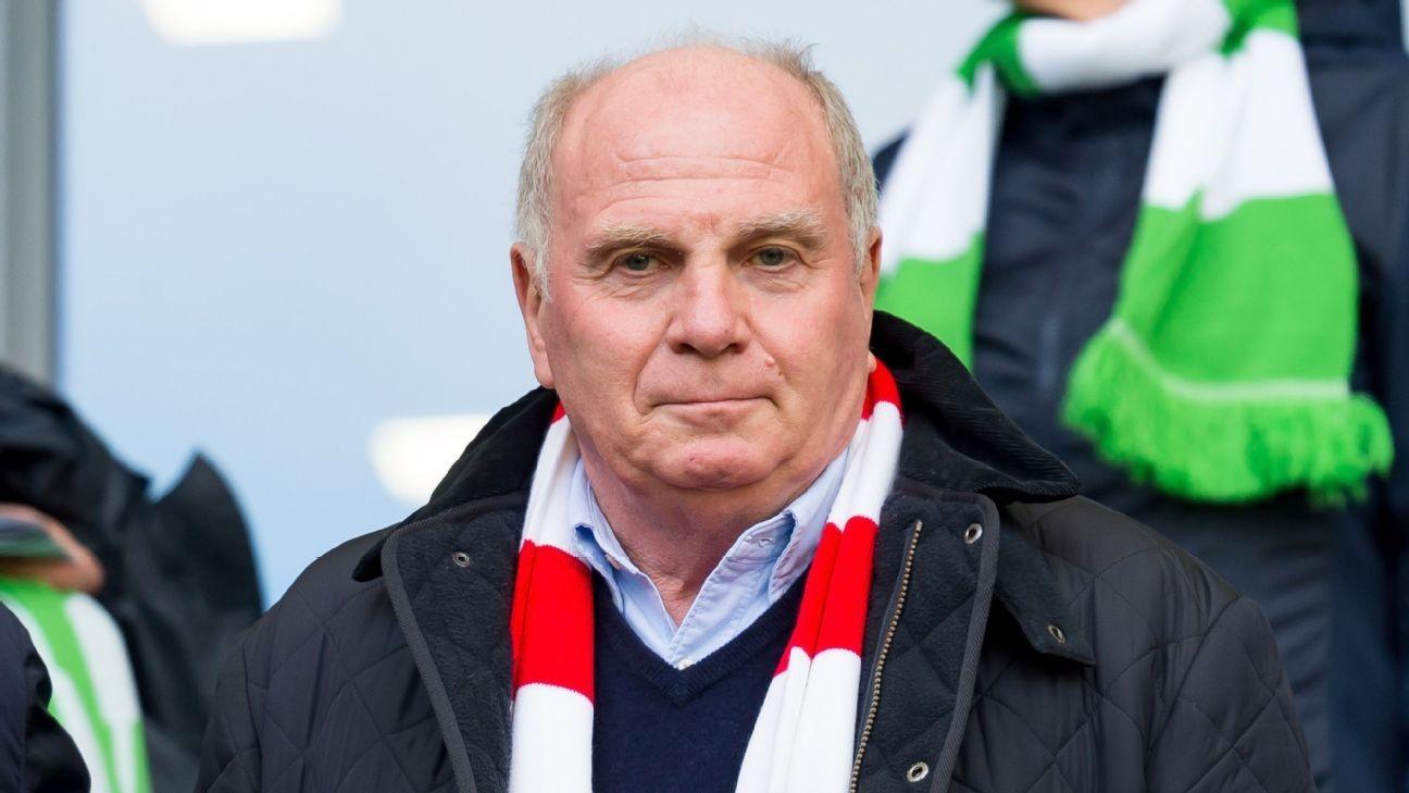 Hoeness to quit as Bayern Munich president