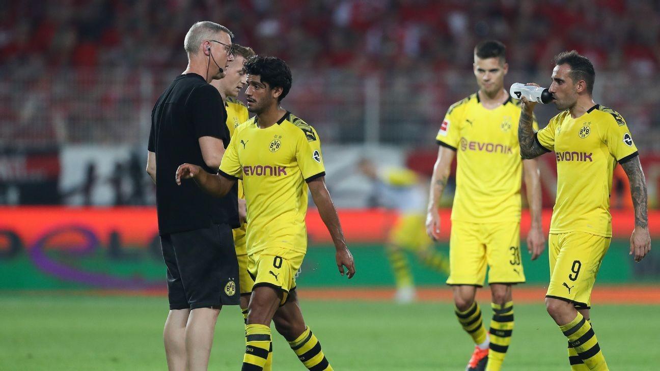 Union shock Dortmund for first Bundesliga win