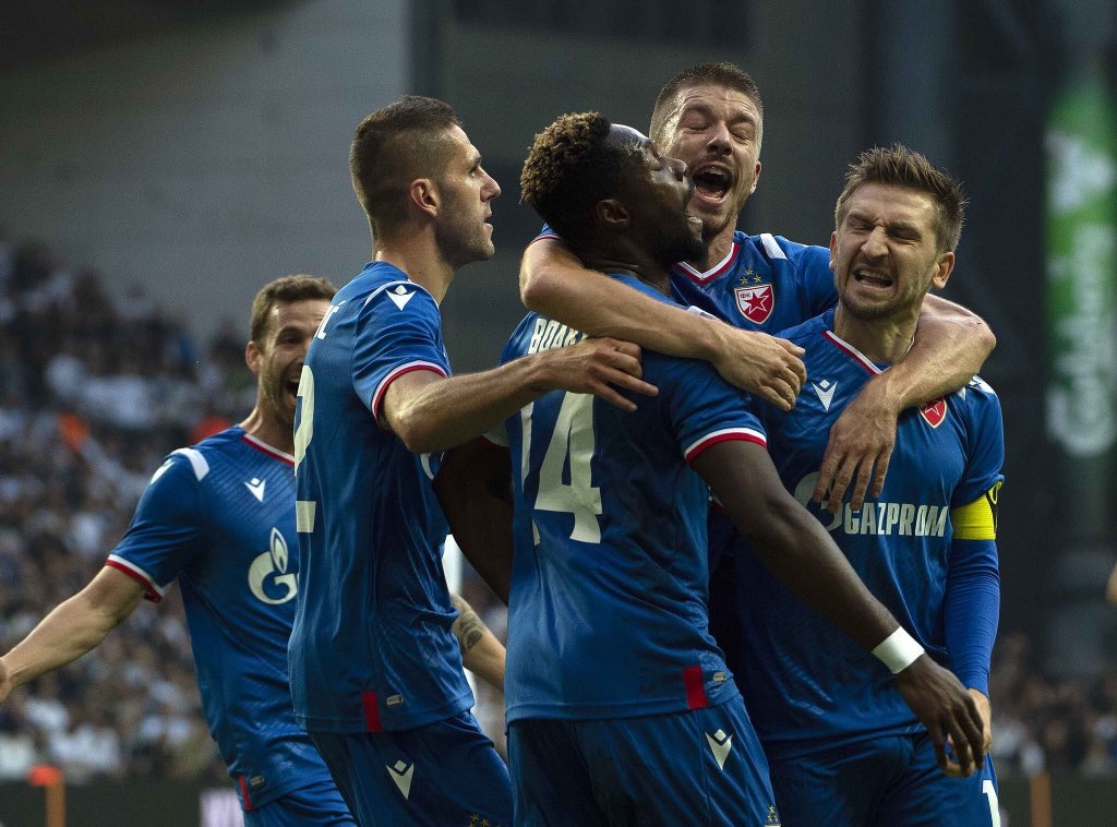 Boakye-Yiadom hails Red Star Belgrade team spirit after UCL progression