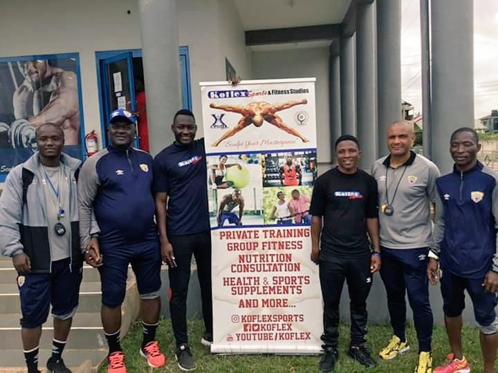 Hearts Of Oak agrees partnership with KOFLEX GYM in Ashalley-Botwe