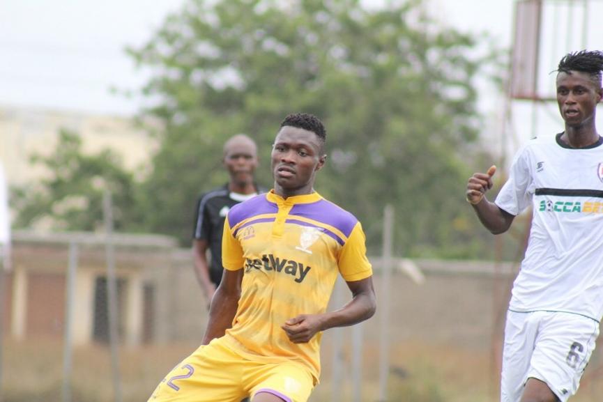 Tahiru Awudu signs contract extension at Medeama SC