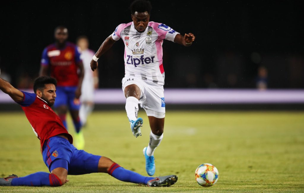 Samuel Tetteh excited over LASK Linz Europa League victory against FC Basel
