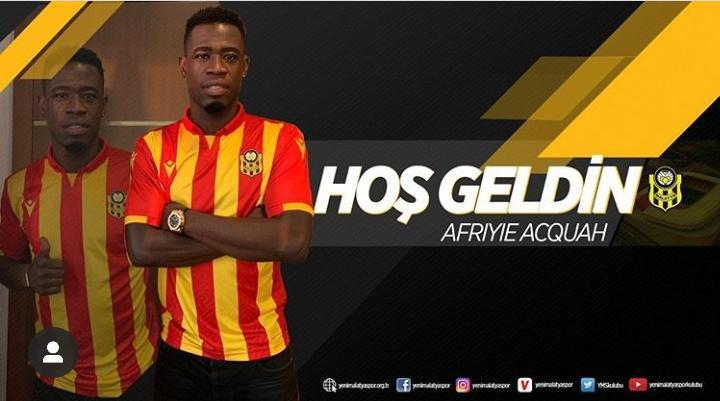 Afriyie Acquah to receive €1m  per season after completing Matalyaspor move
